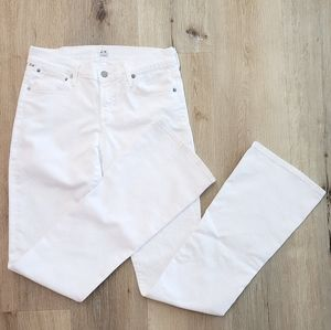 CITIZENS BY HUMANITY By Jerome Dahan White Jeans